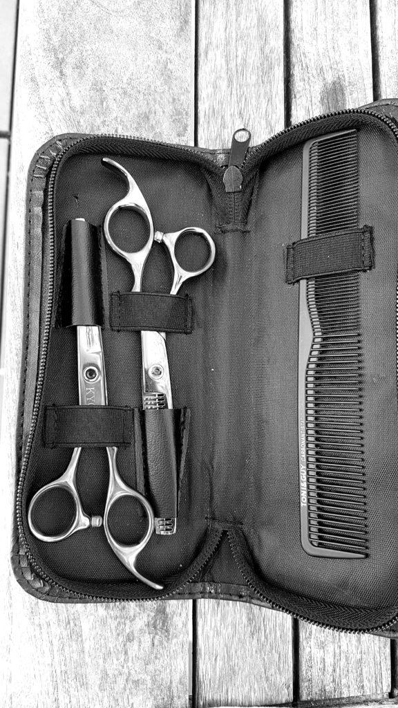 Ciseaux pro pour coupe à la maison
